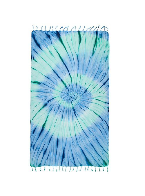 tie dye sand cloud turkish towels